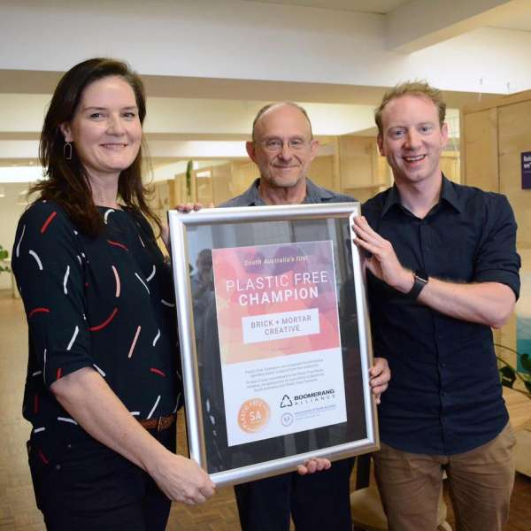 South Australia's first business goes plastic free