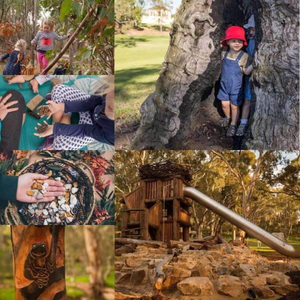 Nature play at the heart of Glenthorne National Park