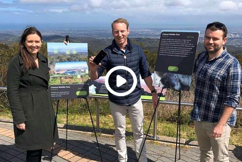 New app identifies major landmarks from Mt Lofty