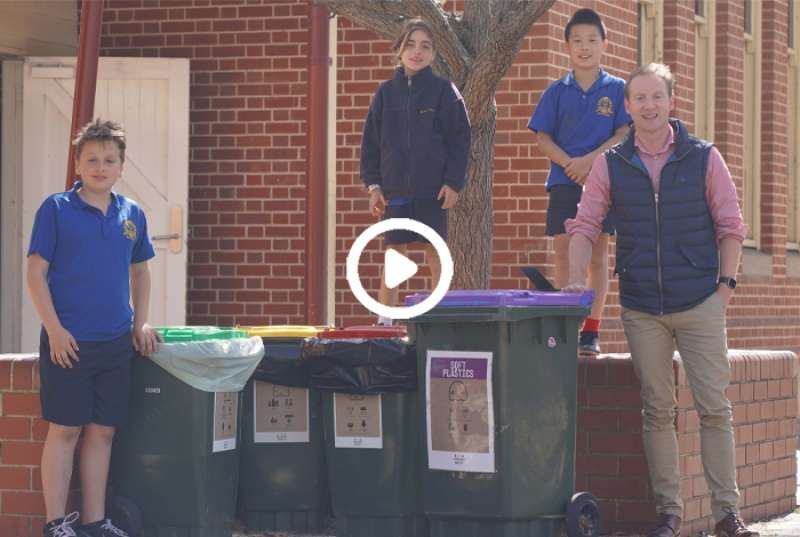 Rose Park Primary waste warriors
