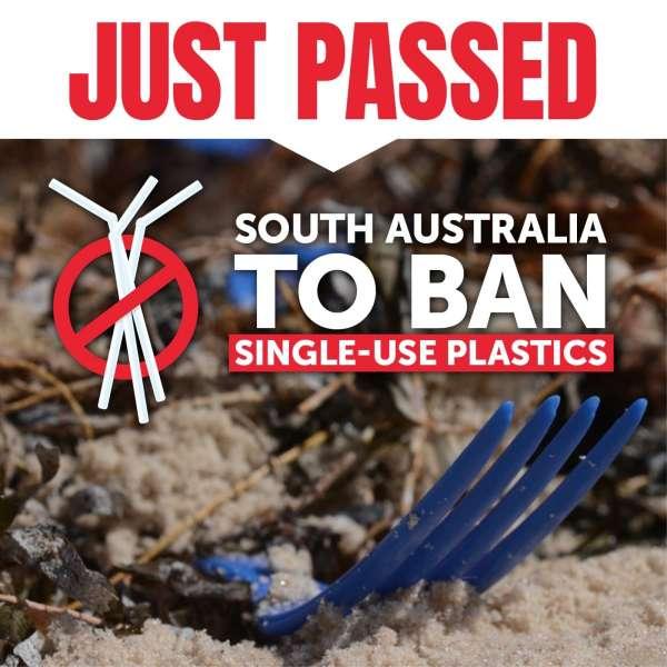 Single-use plastics banned!