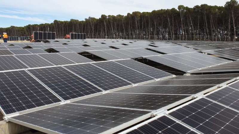 Happy Valley rolls out world's largest re-deployable solar site