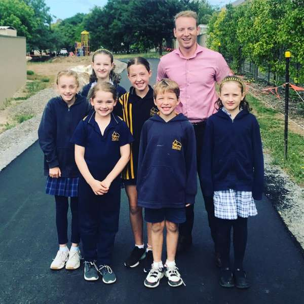 New path for Woodend Primary School
