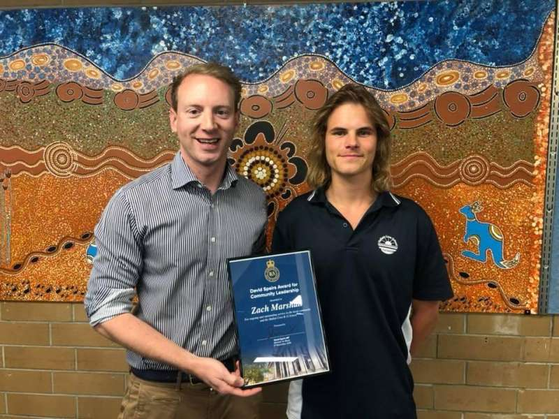 My Community Leadership Award winner