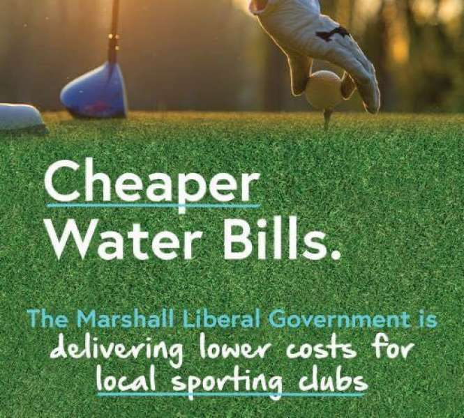 Sporting clubs to pocket $1.5 million in water bill savings