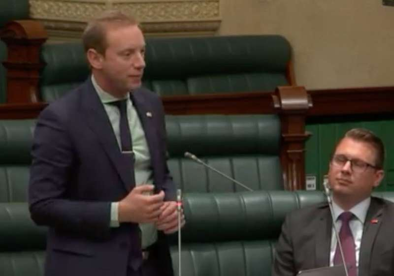Update Parliament on the successful opening of Myponga Reservoir